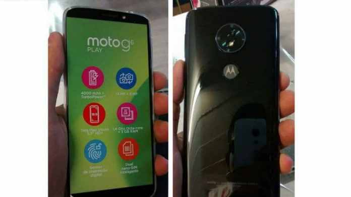 Moto G6 Play Live Images Leaked, Renders for Entire Moto G6 Family Surface Online