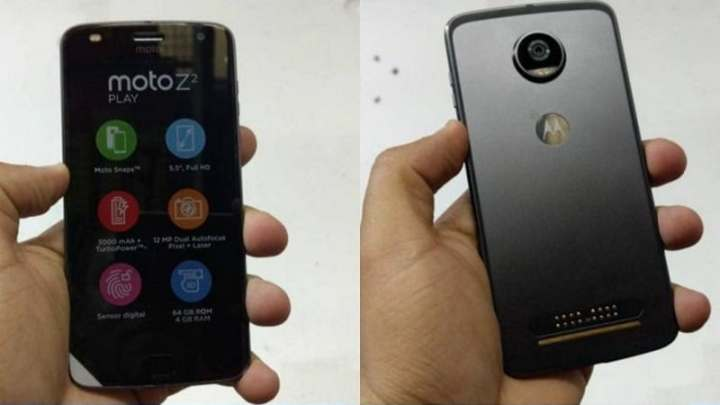 Moto Z2 Play Retail Box Leaked in Live Images, Reveals Specifications