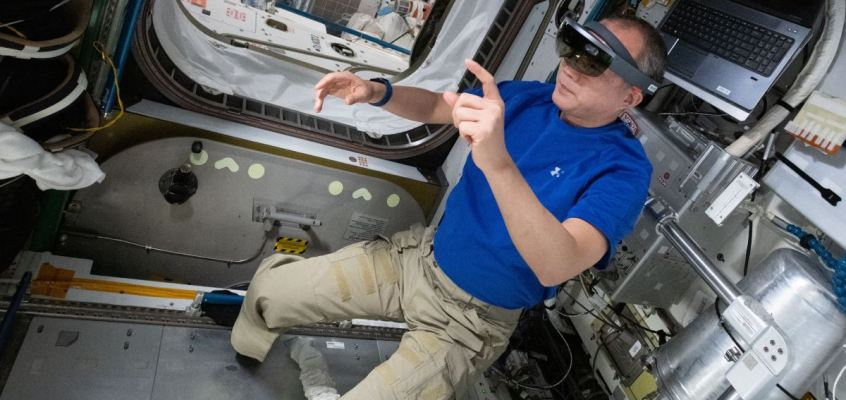 NASA Leveraging Augmented Reality To Help Astronauts Repair ISS Tools