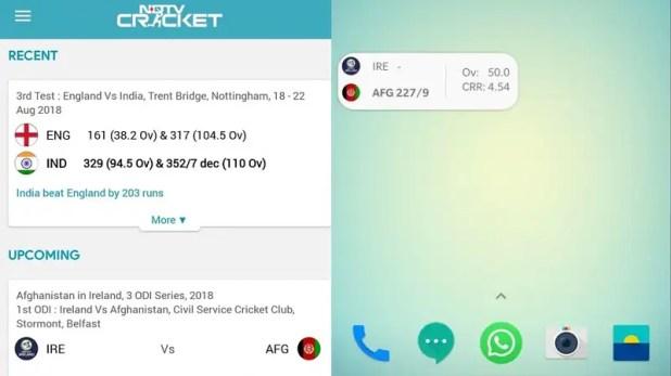 ndtv cricket android NDTV Cricket