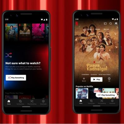 Netflix Launches Play Something, Fast Laughs Features for Android