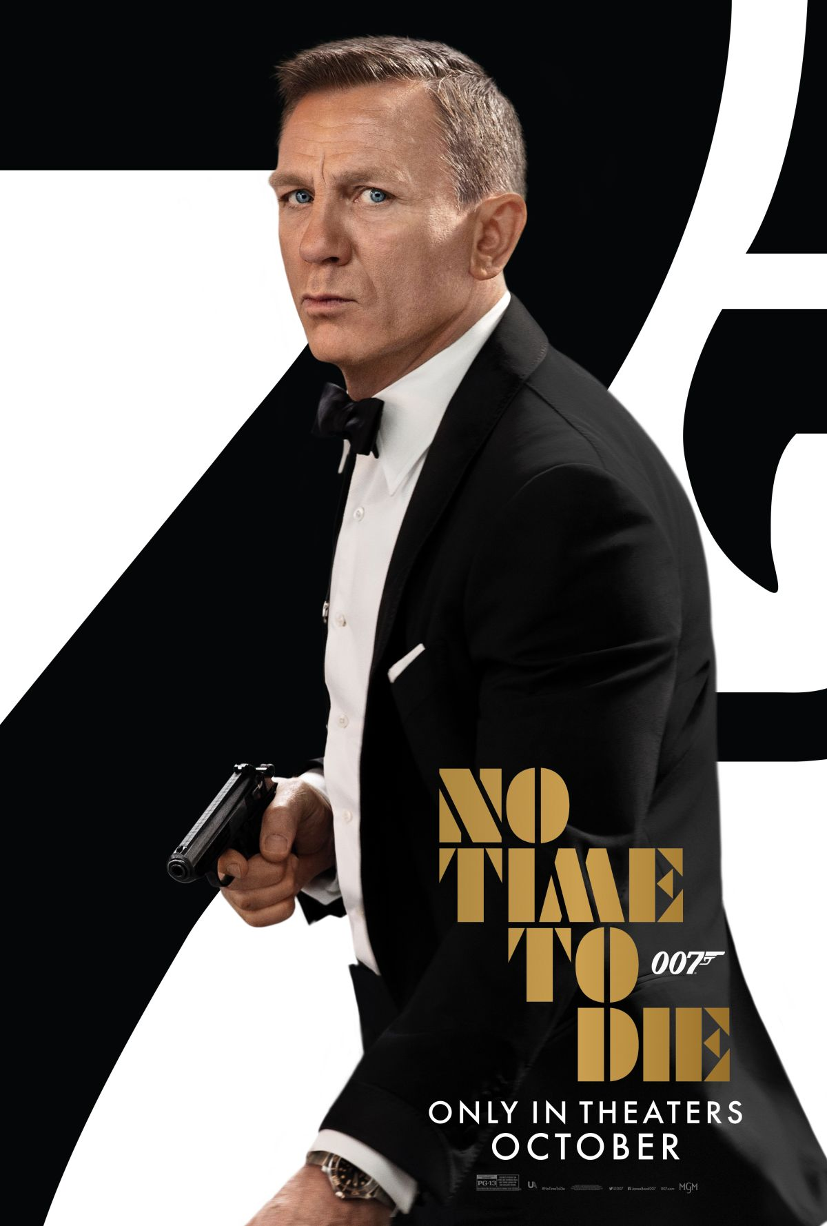 No time to die poster 1 007 d
