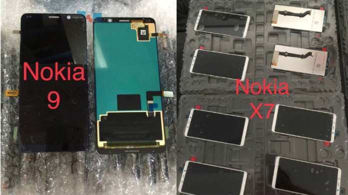 Nokia 9, Nokia X7 Leaked Images Show Displays Without Notch