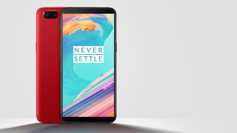 OnePlus 5T Lava Red Edition Launched in India, Priced at Rs. 37,999