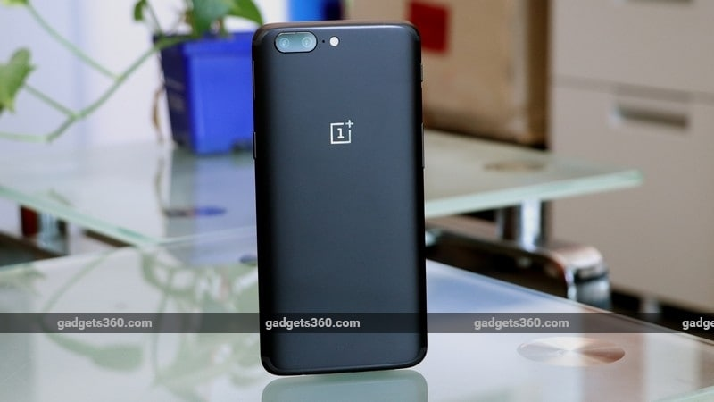 oneplus 5 back gadgets 360