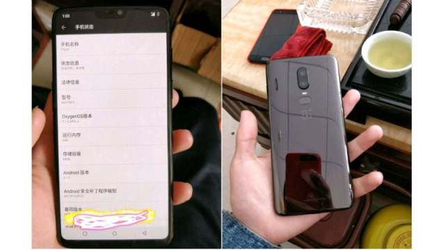 %name OnePlus 6 spotted on AnTuTu benchmark, the smartphone has a Snapdragon 845 SoC and iPhone X like display
