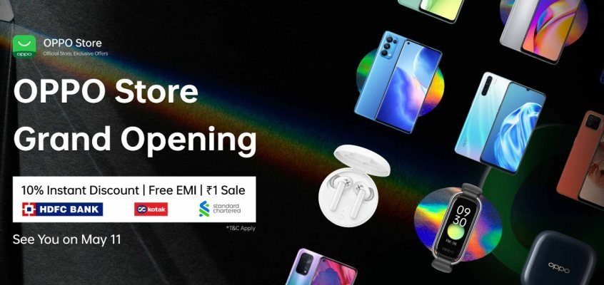 Oppo Launches Its Online Store in India With Introductory Offers