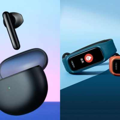 Oppo Enco Air TWS Earphones, Oppo Band Vitality Edition Launched
