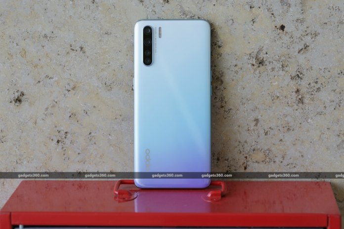 oppo f15 back image gadgets 360 Oppo F15