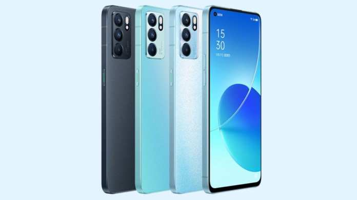 Oppo Reno 6 Series Renders Surface Online Ahead of Today's Launch