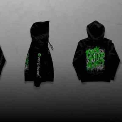 NFT Hoodie by Overpriced Sells for $26,000