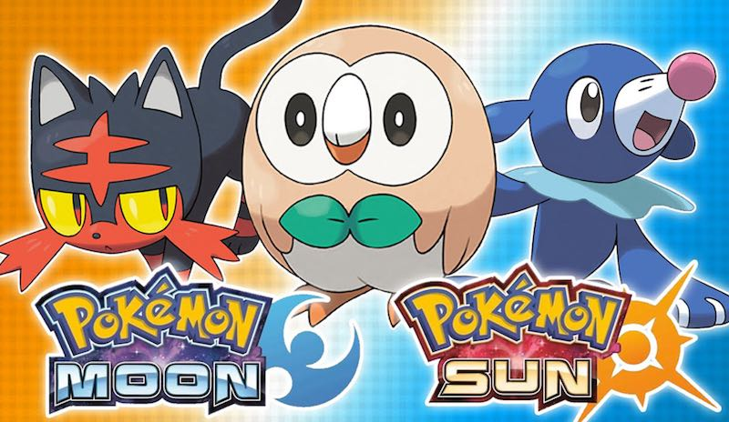 pokemon sun and pokemon