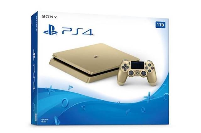 Sony Launches PS4 Slim Gold Edition
