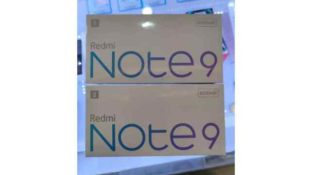 redmi note 9 5g retail box leak weibo Redmi Note 9 5G