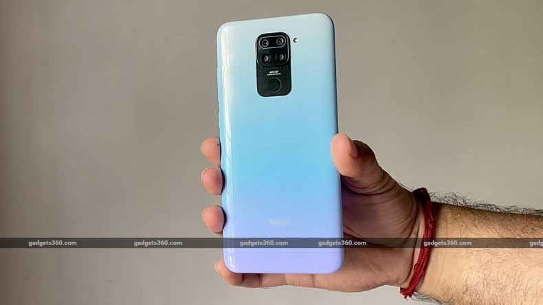 redmi note 9 back gradient finish gadgets360 Redmi Note 9 Review