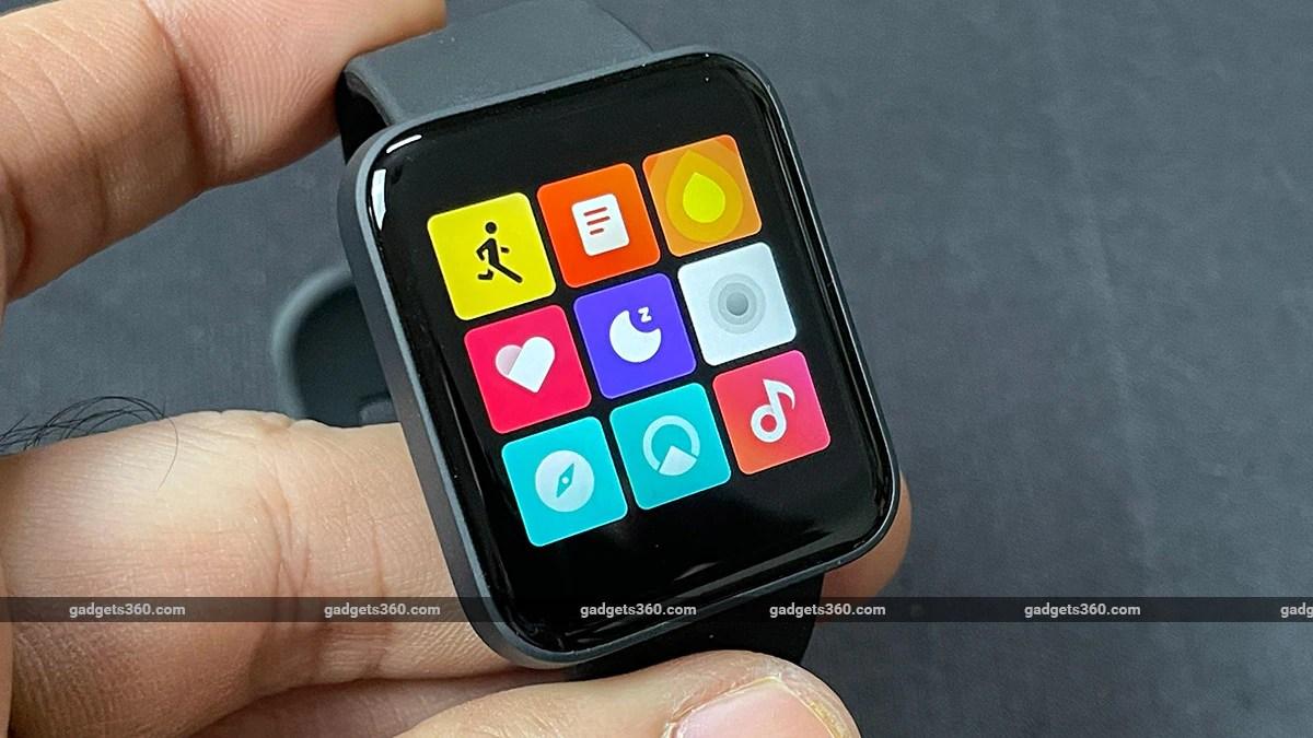 redmi watch apps gadgets360 Xiaomi Redmi Watch Review