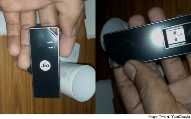 Reliance Jio Jio Dongle 2 Battery Free Portable Internet Hotspot Launched at Rs. 1,999