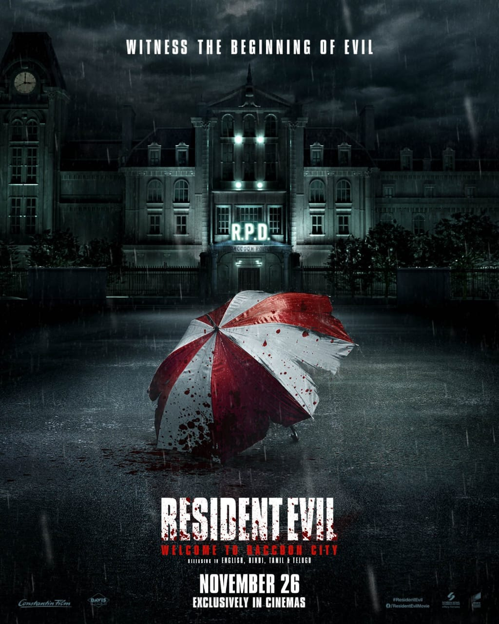 resident evil raccoon city poster resident evil welcome to raccoon city