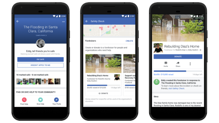 Facebook Will Add Fundraising Option to 'Safety Check'
