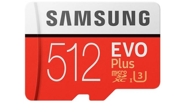 Samsung's First 512GB microSD Card, Cheapest Wireless Charger Listed on Company Site