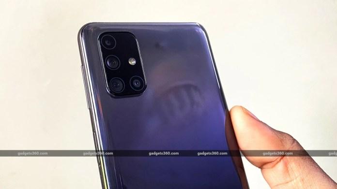 samsung galaxy 31s camera module gadgets360 Samsung Galaxy M31s Review
