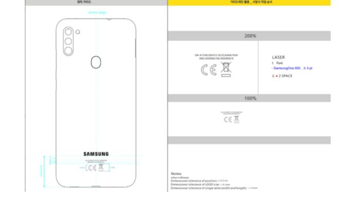 Samsung Galaxy A11 Spotted On Us Fcc With 4 000mah Battery Triple Rear Cameras Technology News