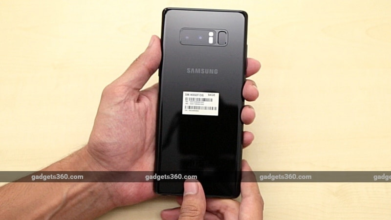samsung galaxy note 8 back gadgets 360 samsung