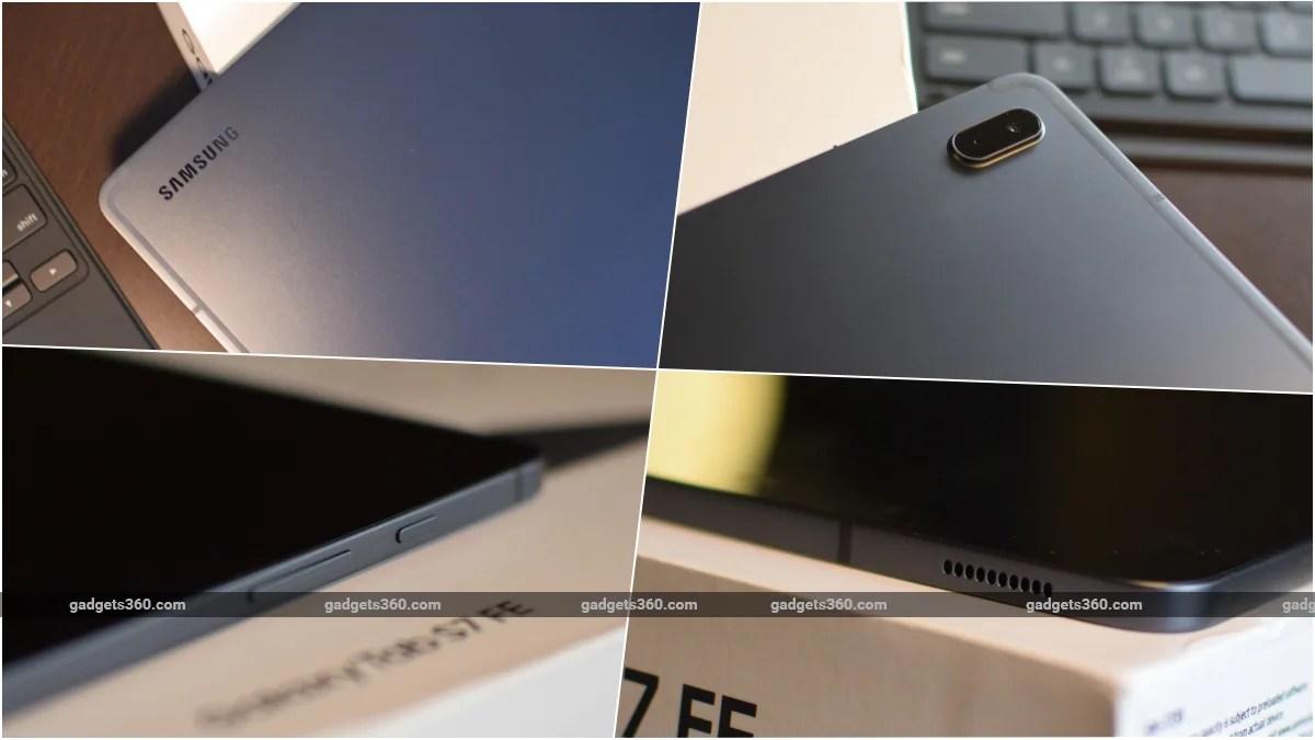 samsung galaxy tab s7 fe review design gadgets 360 ww