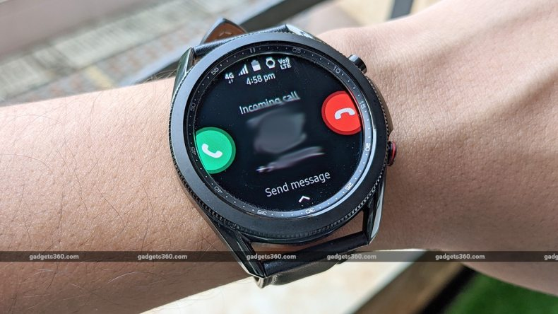 samsung galaxy watch 3 lte review LTE call ss