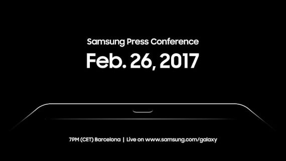 Samsung Galaxy Tab S3 Expected to Launch on February 26 at MWC 2017