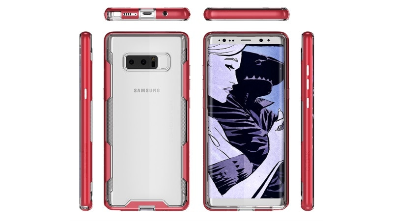 Samsung Galaxy Note 8 Renders Leak, Said to Have Richer Multimedia Capabilities
