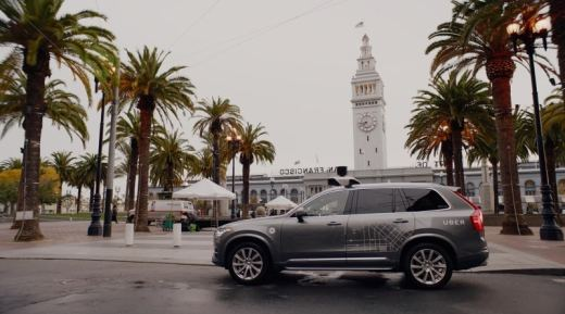 Uber Removes Self-Driving Cars From San Francisco Roads