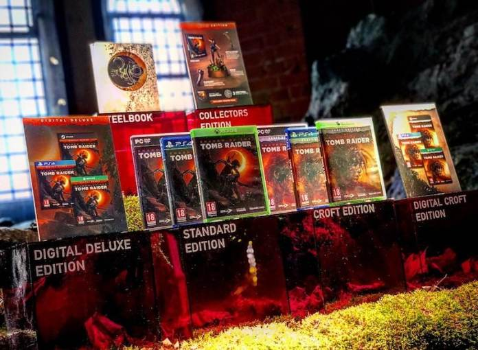 Shadow of the Tomb Raider Collector's Edition, Steelbook Edition, and Croft Edition Leaked