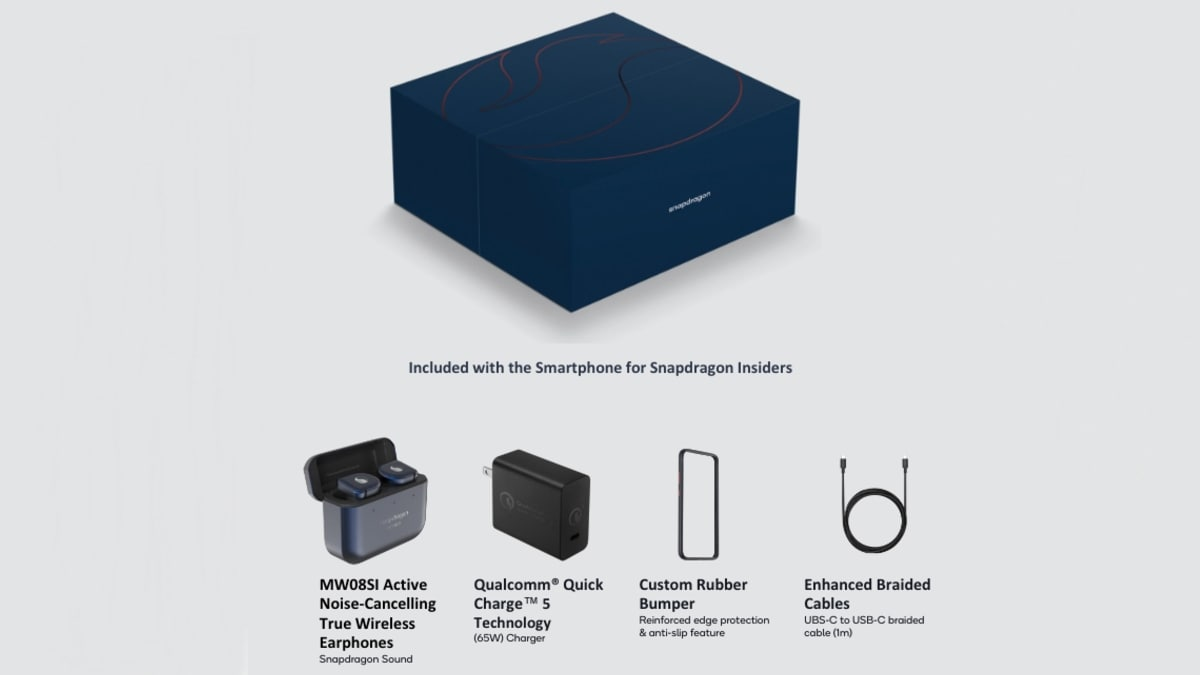 smartphone for snapdragon insiders box contents image Smartphone for Snapdragon Insiders