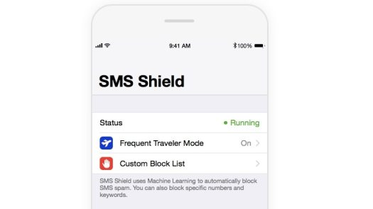 sms shield filters SMS Shield