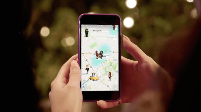 Snapchat Launches Snap Map, a Location Sharing Feature