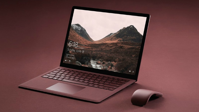 Microsoft Surface Laptop to Rival Chromebook Leaked in Images Ahead of Tuesday's Launch