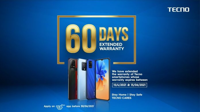 Tecno and Itel Phones to 60 Days Extended Warranty