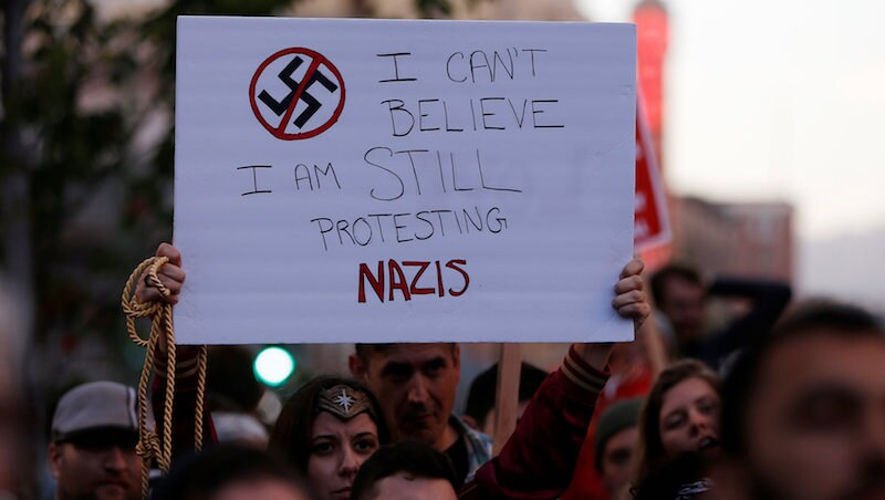 Electronic Frontier Foundation Slams Tech Firms for Barring Neo-Nazis