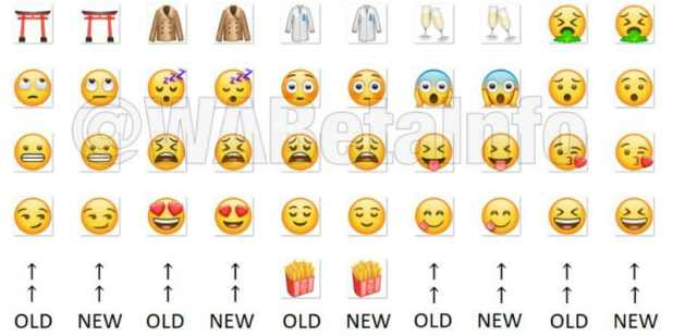 whatapp android new emoji layout wabetainfo