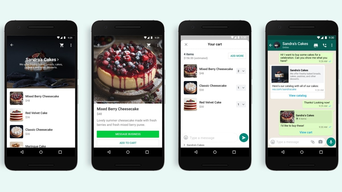 WhatsApp launch  'Add to Cart' button feature for shopping