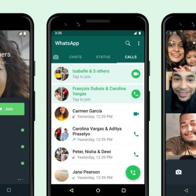 WhatsApp Now Lets You Join a Ongoing Group Call After It Began