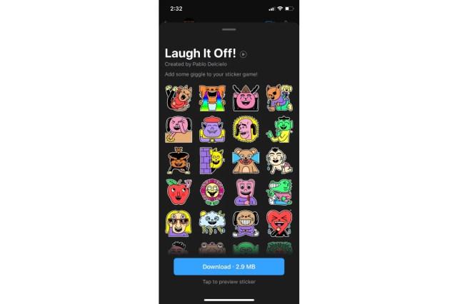 whatsapp laugh it sticker pack image widget 360 WhatsApp