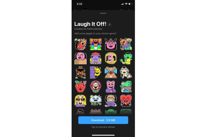 whatsapp laugh it off sticker pack image gadgets 360 WhatsApp