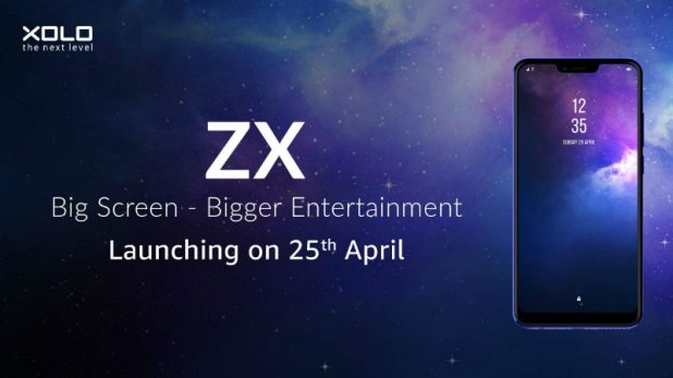 Xolo ZX With 6.22-Inch HD+ Display, Dual Rear Cameras Set to Launch in India on April 25