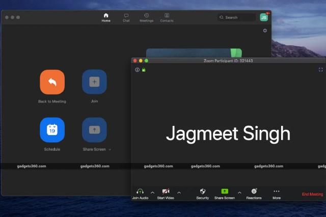 Zoom new meeting screen widget 360 zoom
