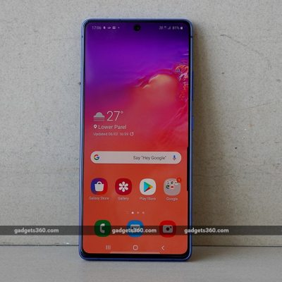 Samsung Galaxy S10 Lite Receiving April 2021 Android Security Patch: Report