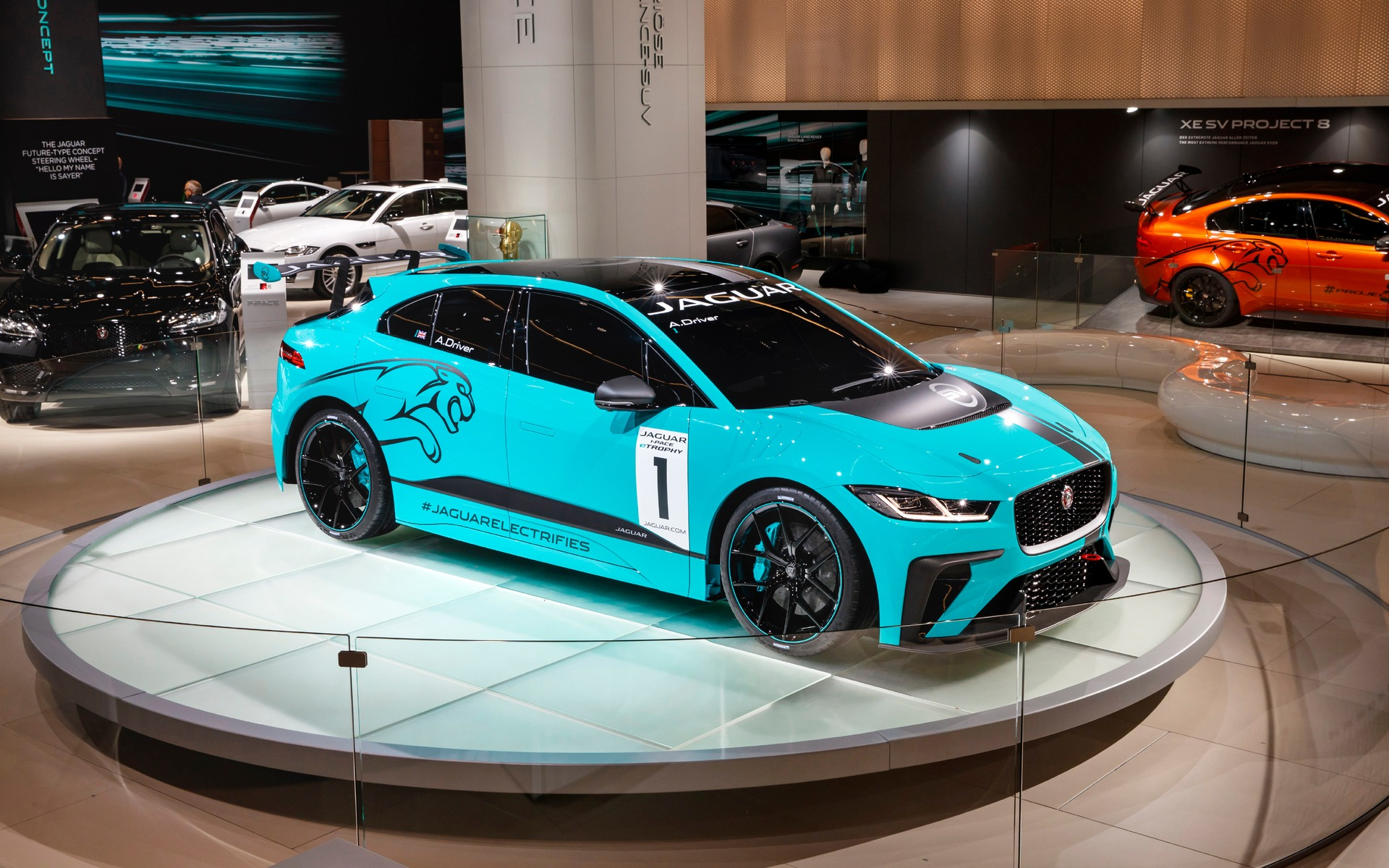 Jaguar Racing Launches First International Championship For