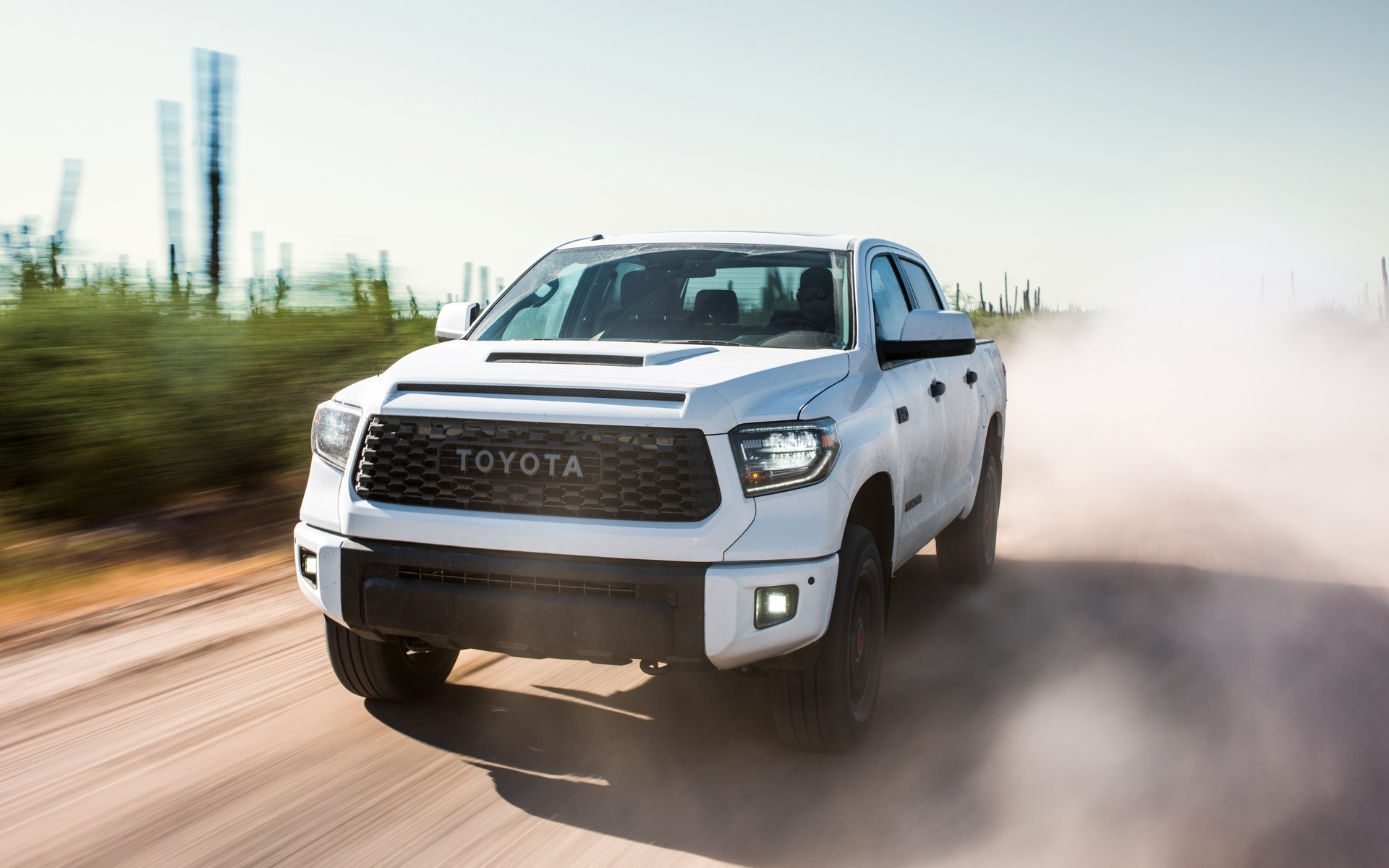 2019 toyota tundra trd pro bows in