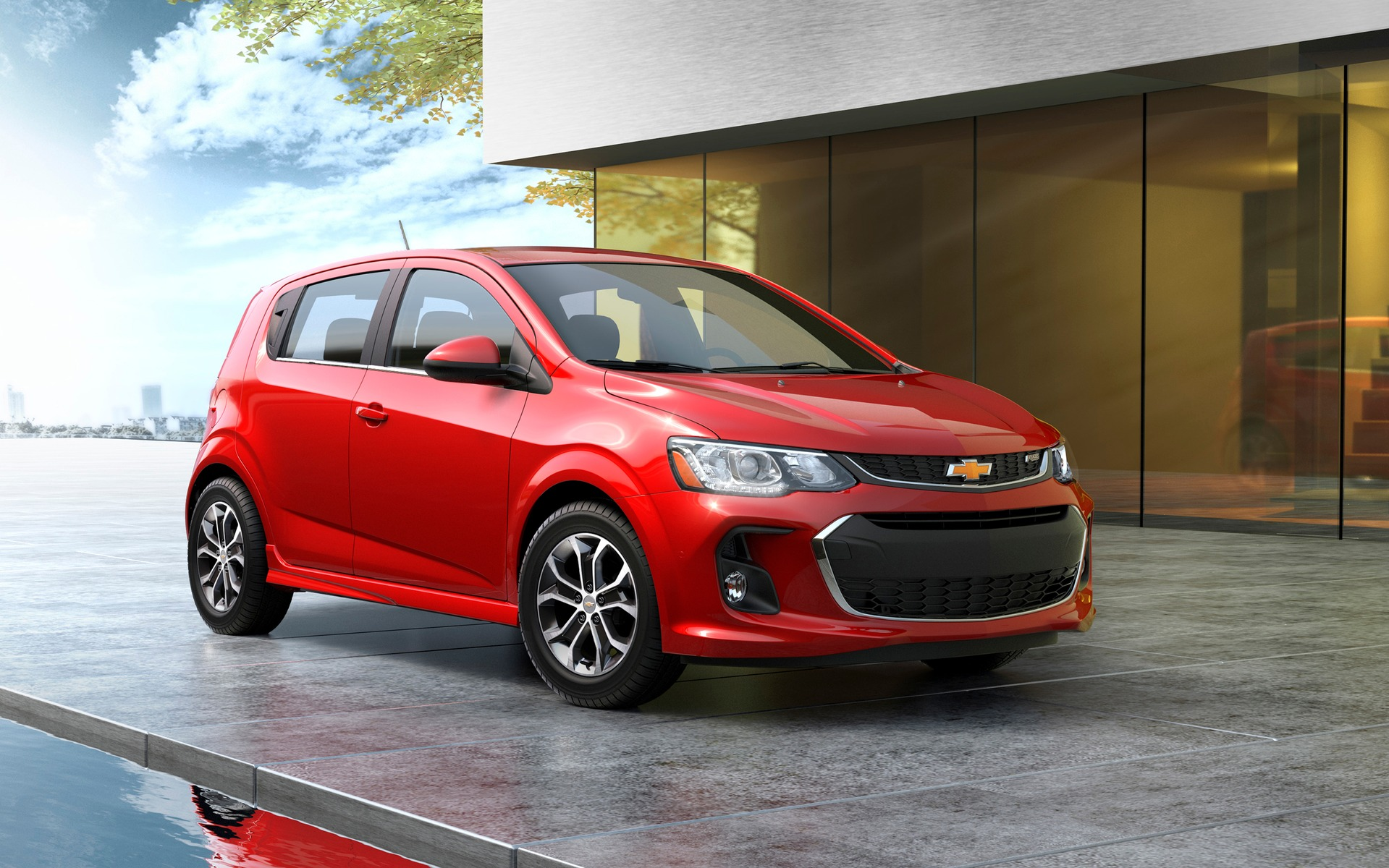 chevrolet sonic becomes the